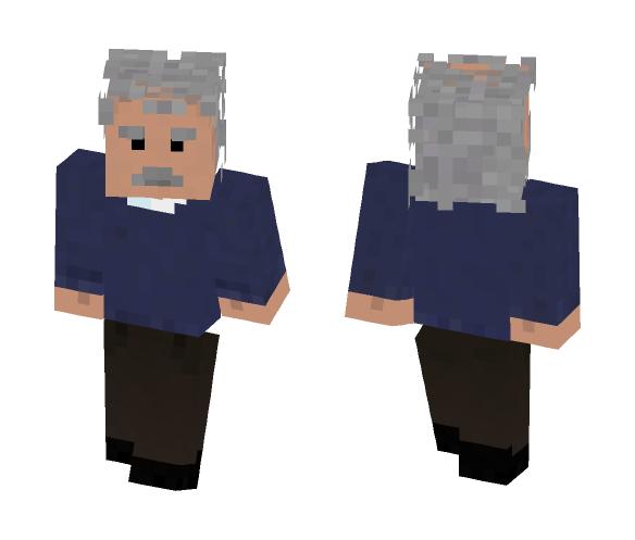 Einstein - old but gold - Male Minecraft Skins - image 1