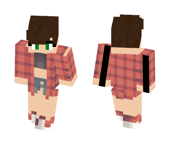 Download Shorter: Download Short Haired Girl No2 Minecraft Skin For Free