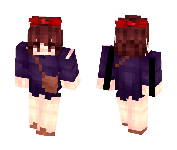 【Kiki's Delivery Service】 - Female Minecraft Skins - image 1
