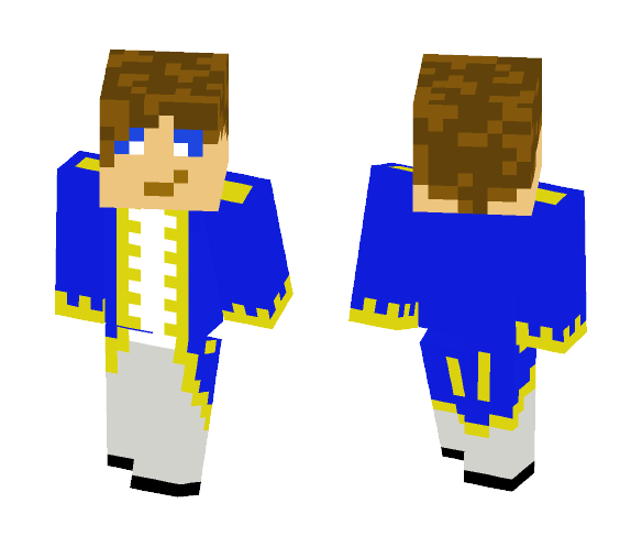 18th Century Naval Officer - Male Minecraft Skins - image 1