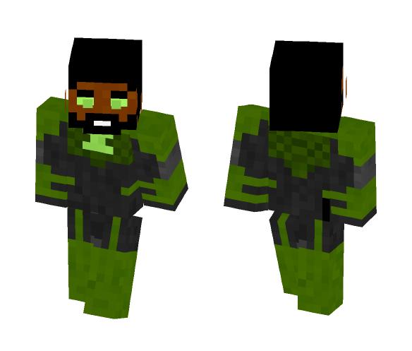 John stewart | Injustice - Male Minecraft Skins - image 1