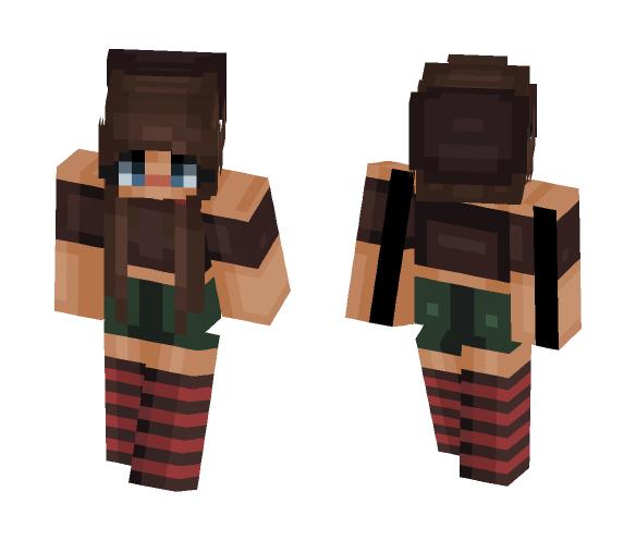 Thinking about you ~ ❤ - Female Minecraft Skins - image 1