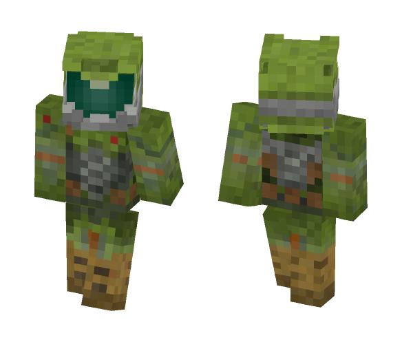 DooM 4 - The Praetor suit - Male Minecraft Skins - image 1