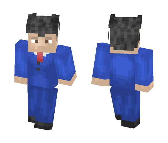 ☆Spark☆ - Phoenix Wright - Male Minecraft Skins - image 1