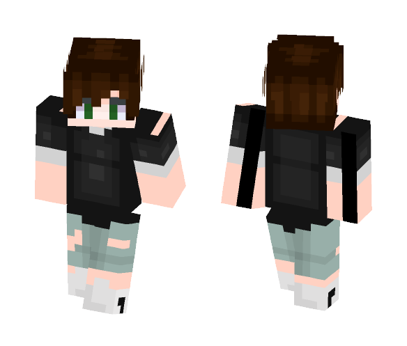 Boy Hair Images Download: Download Cute Boy With Brown Hair Minecraft Skin For Free