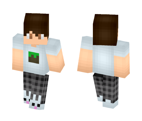 Bunny Slippers! - Male Minecraft Skins - image 1