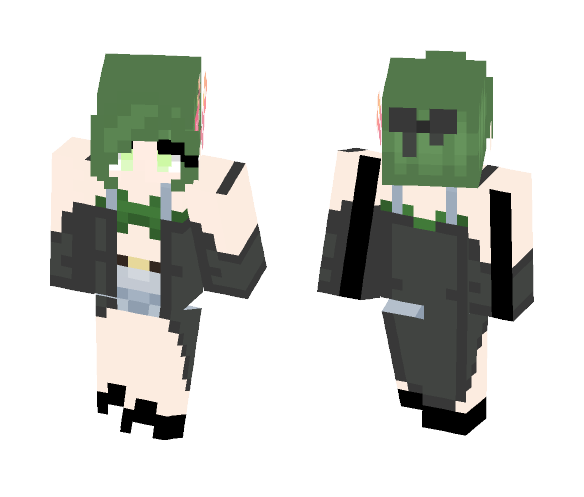 Green Dream - Female Minecraft Skins - image 1