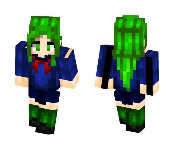 Midori Gurin - Yandere Simulator - Female Minecraft Skins - image 1
