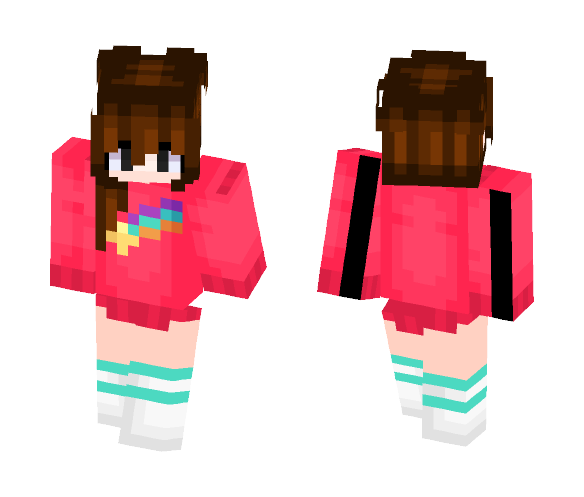 Mabel Pines (Gravity Falls) - Female Minecraft Skins - image 1