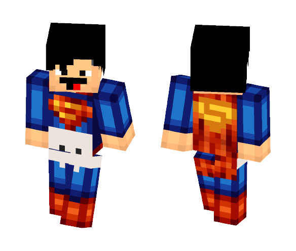 Not so Superhero Superman - Male Minecraft Skins - image 1