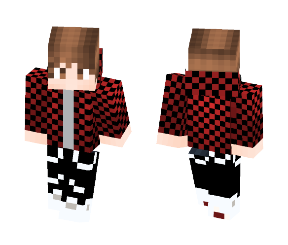 red gamer - Male Minecraft Skins - image 1