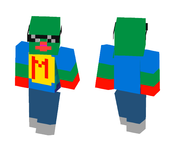 Download Meme Man! Minecraft Skin for Free ...