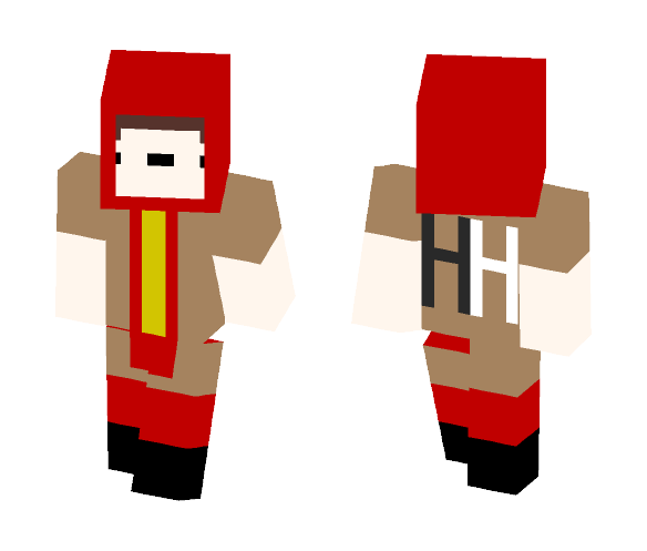 HOT DOG MAN... (Not So) Superhero - Male Minecraft Skins - image 1