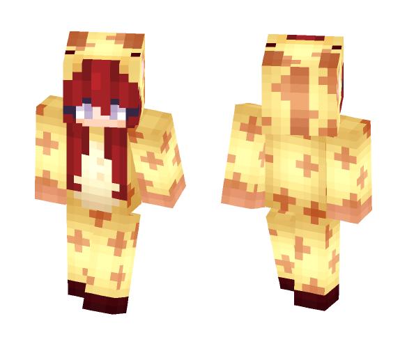 ~Giraffe Onesy - Female Minecraft Skins - image 1