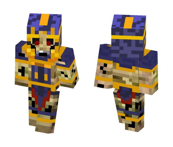 Ancient Undead Ishtari - Male Minecraft Skins - image 1