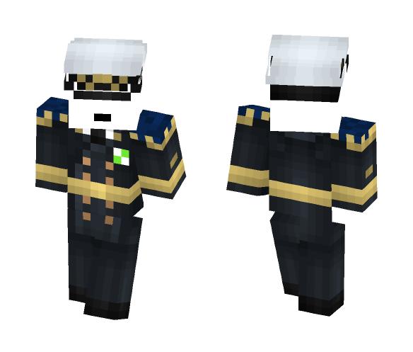 Vindex Naval Officer - Interchangeable Minecraft Skins - image 1