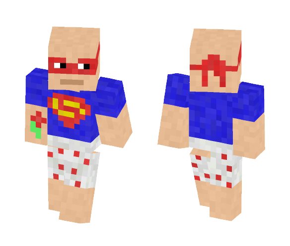 My Not So Superhero - Male Minecraft Skins - image 1