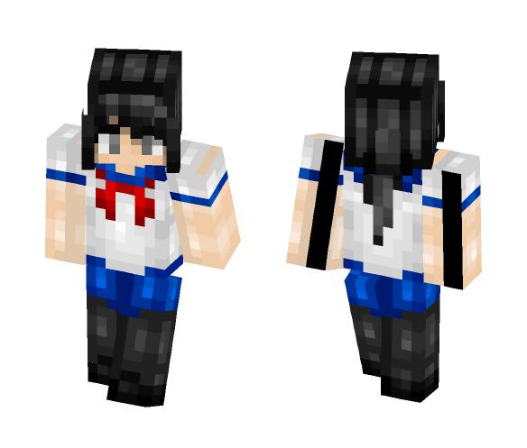 Ayano Aishi - Yandere Simulator - Female Minecraft Skins - image 1