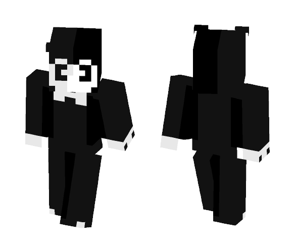 bendy was very trendy - Male Minecraft Skins - image 1