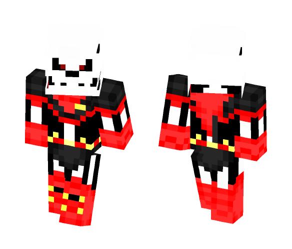 Underfell Papyrus - Male Minecraft Skins - image 1