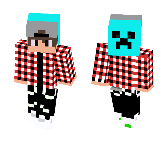 red gamer - Male Minecraft Skins - image 1