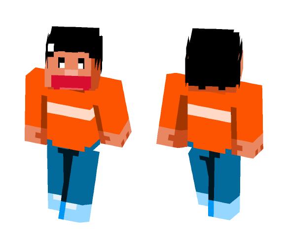 Gian - Doraemon - Male Minecraft Skins - image 1