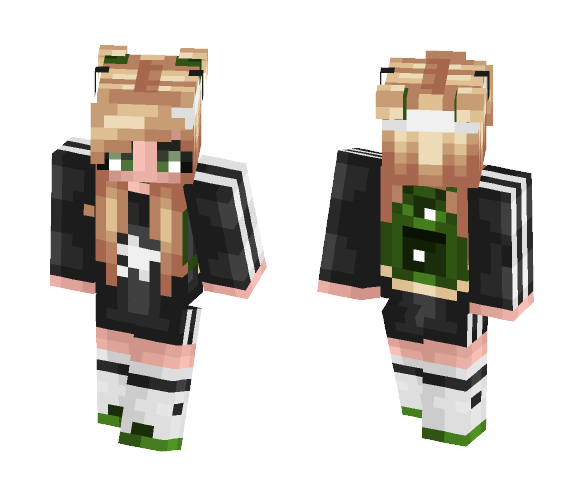 Am i trendy yet? - Female Minecraft Skins - image 1