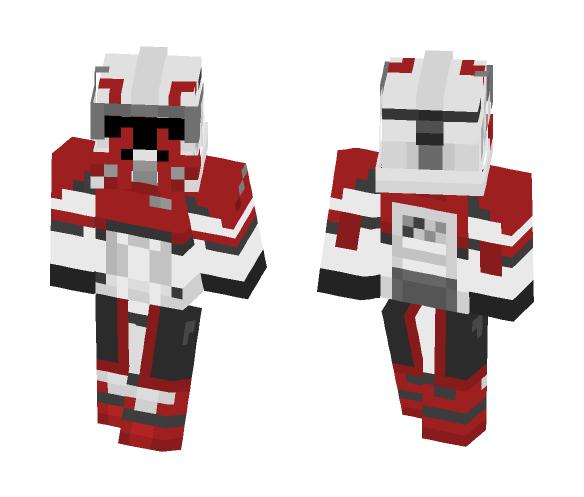 Commander Thorn - Comics Minecraft Skins - image 1