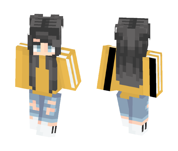 maybe idk - Female Minecraft Skins - image 1