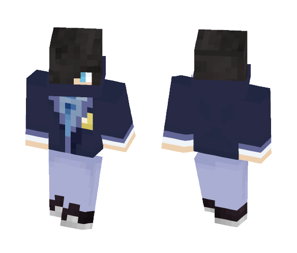 Zane - school uniform - Male Minecraft Skins - image 1