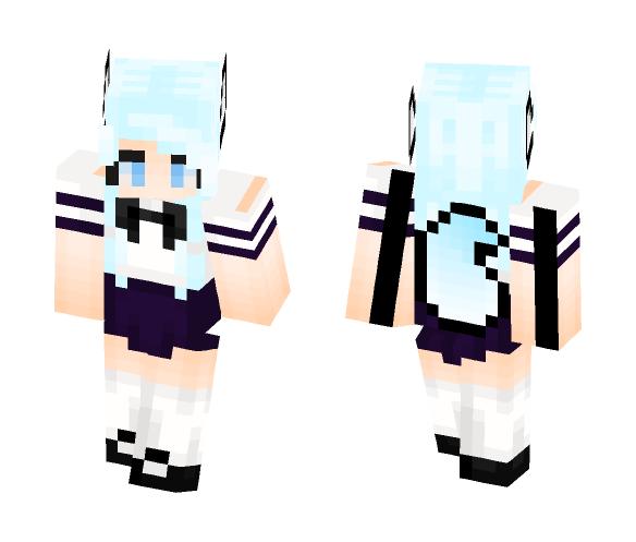 Arctic Wolf - Female Minecraft Skins - image 1