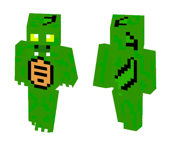 Baby Crocodile - Baby Minecraft Skins - image 1