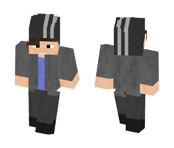 Beanie Dude - Male Minecraft Skins - image 1