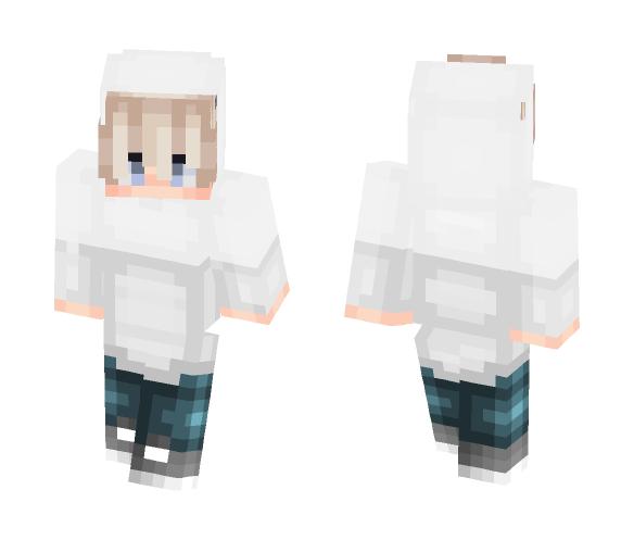 Download White Hoodie Minecraft Skin For Free Superminecraftskins