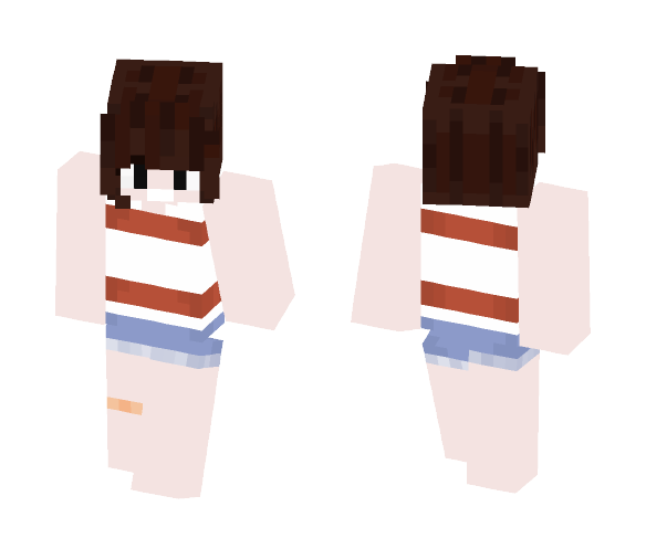 Stanley Pines (GravityFalls, Young) - Male Minecraft Skins - image 1