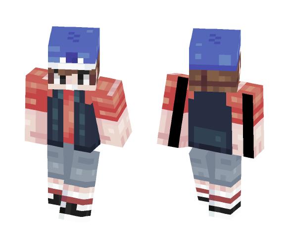 «Dipper PinesΓ {Poppy-Reel} - Male Minecraft Skins - image 1