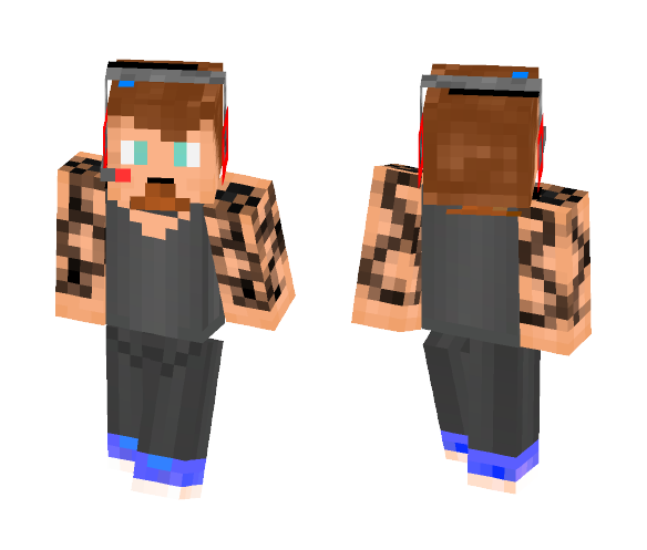 First Skin I Made [ Me IRL] - Male Minecraft Skins - image 1