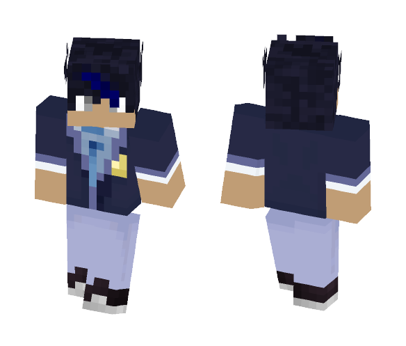 Ein - school uniform - Male Minecraft Skins - image 1