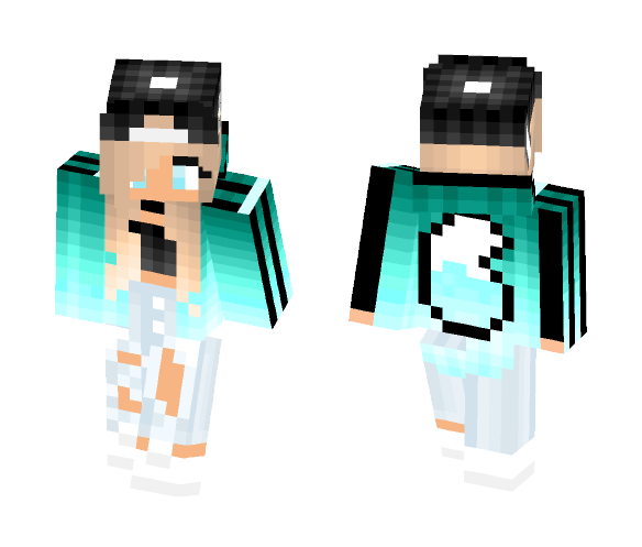 Download Cute Adidas Girl Wolf Version Minecraft Skin For Free Superminecraftskins