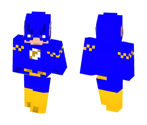 Download Midnight Flash [Custom Speedster] Minecraft Skin for Free