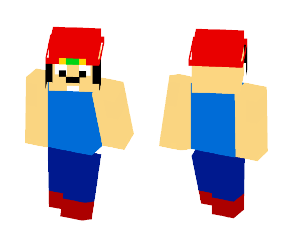 Parappa The Rapper - Male Minecraft Skins - image 1