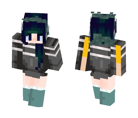 Dark flowers - Female Minecraft Skins - image 1