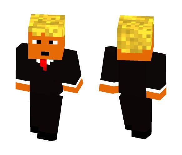 Donald Trump - SPRAY ON TAN!! - Male Minecraft Skins - image 1