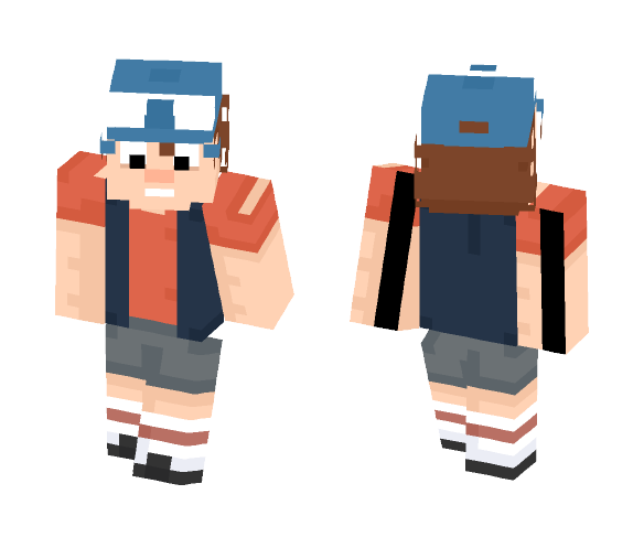 Dipper Pines - Male Minecraft Skins - image 1