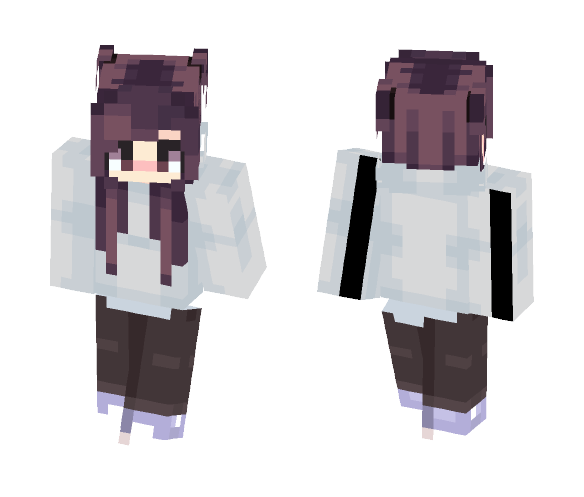 Download Cute Girl Edit Minecraft Skin For
