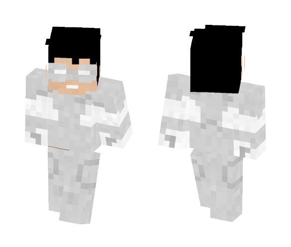 White lantern   Kyle Rayner - Male Minecraft Skins - image 1