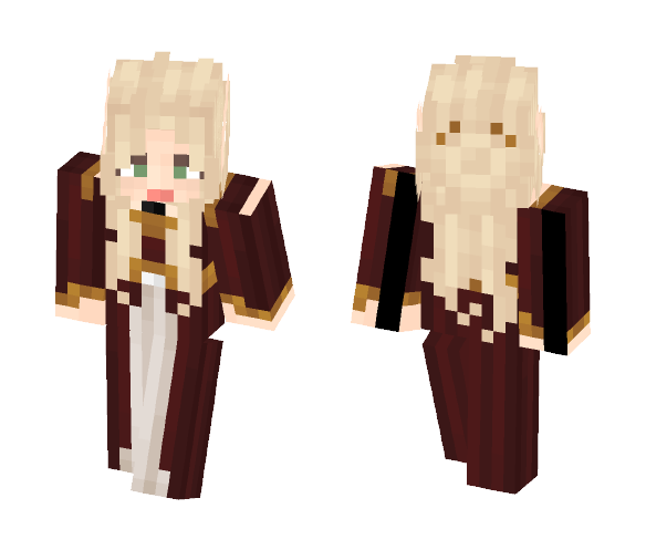 Royal Elfess [LoTC] [✔] - Male Minecraft Skins - image 1