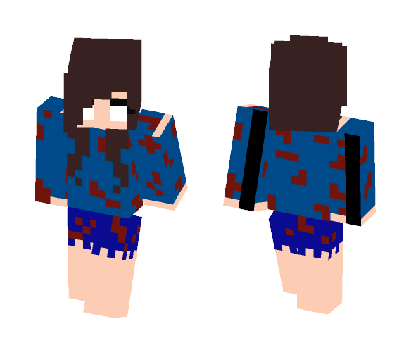 Download Girl Herobrine Minecraft Skin For Free