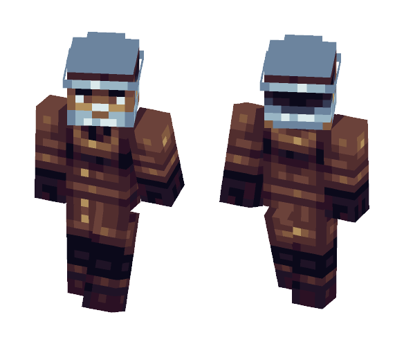 Old Detective (PBL Finals) - Male Minecraft Skins - image 1