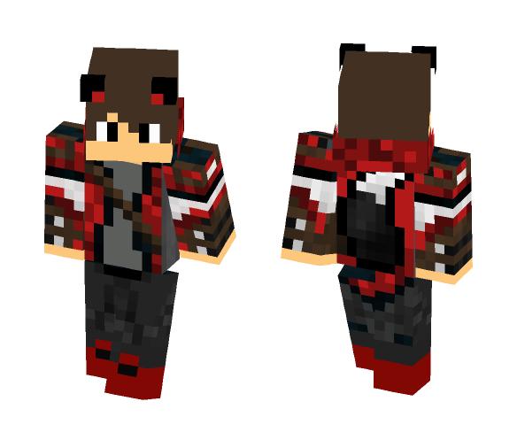 Download Red Wolf Boy Minecraft Skin For Free Superminecraftskins